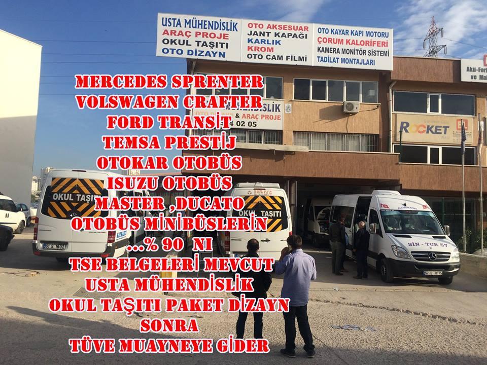 OKUL TAŞITI PAKET DİZAYN ARAÇ PROJESİ 05323118894