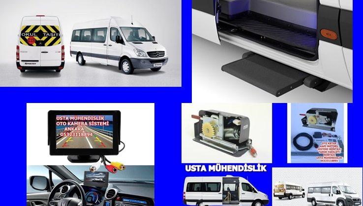 s-Benz-Sprinter-Servis aracı kayar kapı-motor sistemi ANKARA